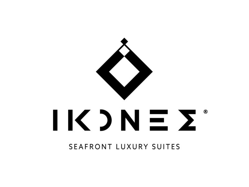 Ikones images pictures ikons rethymno design logo geometric hotel suites luxury ikones