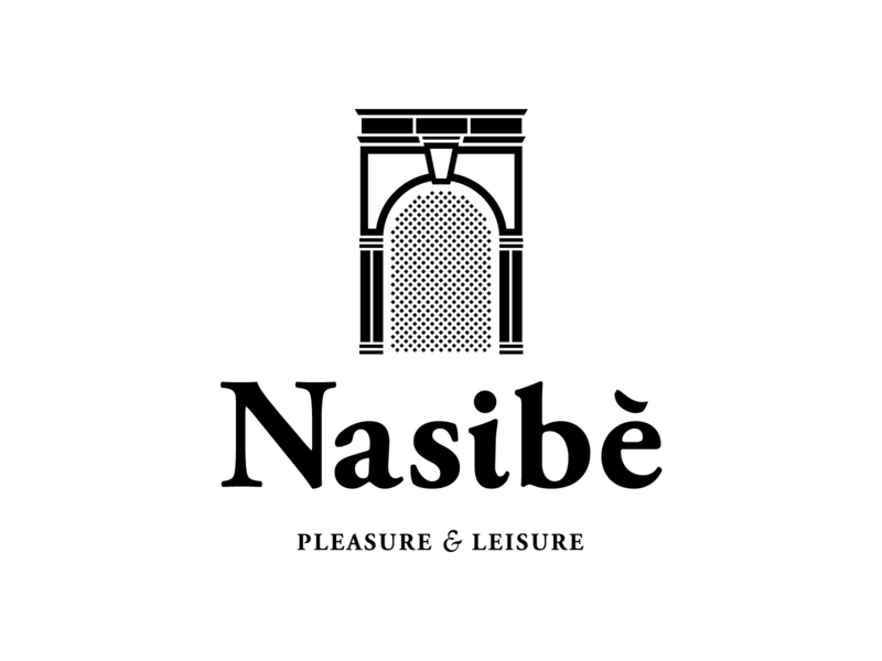 Nasibe logo crete hotel traditional life agricultural life leisure pressure