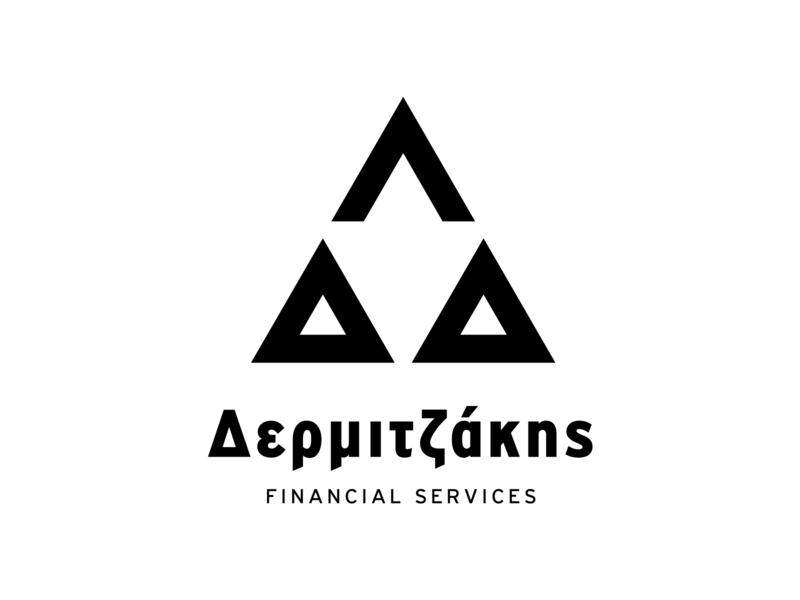 Dermijakis reckoner crete greece design logo financial economic bookkeeper