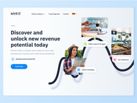 MYFIT  - Fitness Clubs B2B Landing page