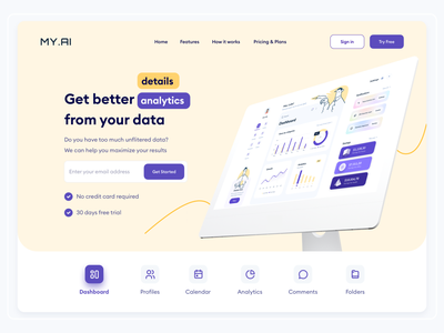 AI Dashboard Website Design webflow wordpress minimal clean branding ui ux web design b2b b2b design b2b website b2b landing page saas saas design saas app dashboard website landing page design website website hero