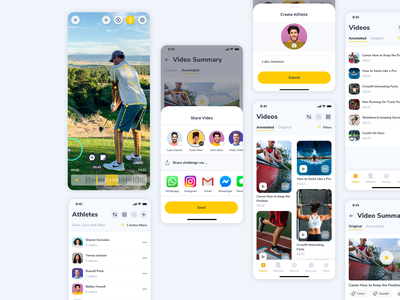 Annotation Mobile App Design minimal clean athletes sports sport ui ux athletes app player app videos app fitness app annotation app sports branding app design sport app sport app design mobile app design fitness mobile app fitnes app