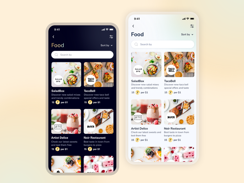 Rewards Mobile App Design app design user interface ui cards food app ui food apps restaurants reward clean ux ui donations donation app food app design points rakuten rewards mobile app rewards app rewards app design