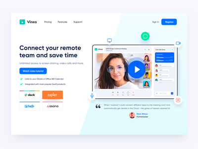 Video Call Conference App Design Website design ux app video video call livestream broadcast connecting conference zoom video call app ui room calling call communication clean chat apps webflow