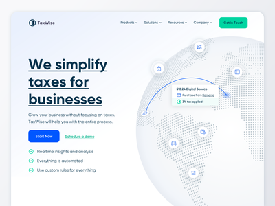 Invoicing Website Landing Page Design in Webflow ux design invoice app finance fintech website webflow saas financial invoicing customer service banking bokkeper software accounting payroll invoices proposal design