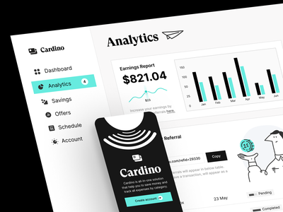 SaaS Financial Dashboard fintech application fintech application design branding visual identity design system web app banking app bank app dashboard analytics statistics account credit card product saas saas app financial