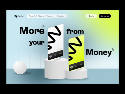 Banking SaaS Design ui ux webdesign website saas website saas design saas landing page saas app online banking design fintech bank finance credit card landing page visual identity webflow financial bank card