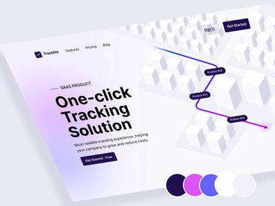 product shipping & tracking website web package b2c b2b delivery fulfillment logistic shipment parcel cargo ui ux app design landing page website webflow tracking saas shipping