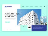 Architect Agency Landing Page Design