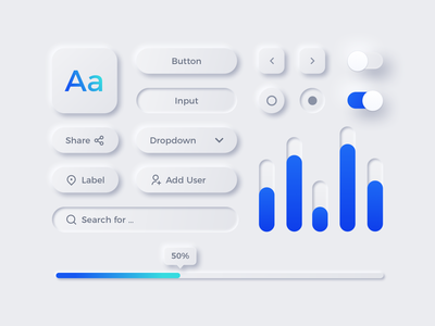 Freebie Neumorphic UX UI Elements freebie minimal sketchapp figma trends 2020 design neutral neumorphic style neumorphic elements neumorphism skeumorphism new design trend skeumorphic neumorphic elements clean design ui ux icon