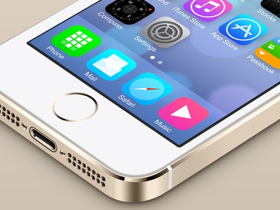 iOS7 dock icons redesign