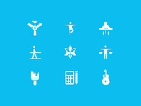 Thumbtack icons