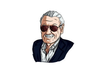 Stanlee infinitywar design illustration art sketch illustration vector marvelcomics marvel stan lee