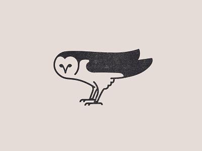 Owl owl icon logo branding vector texture design illustration