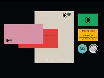 Beyond Binary (alt) bussines card lawfirm branding logo design