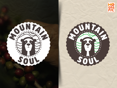 MountainSoul_Logo illustration branding logo vector design
