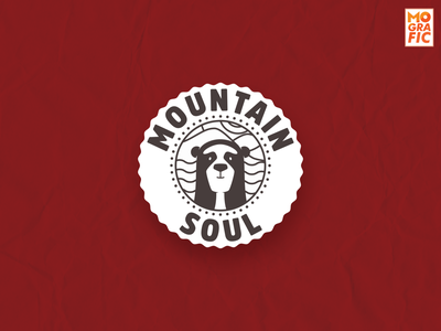 MountainSoul illustration branding logo vector characterdesign design