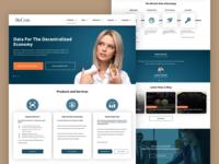Cryptocurrency Digital Asset Market Landing Page