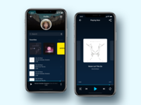 Music Player Profile