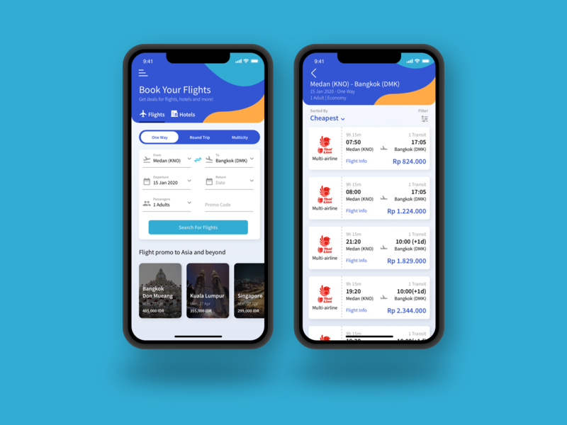 Flight Ticket App clean concept ticket booking flight app flight ticketing ticket design ux ui mobile app