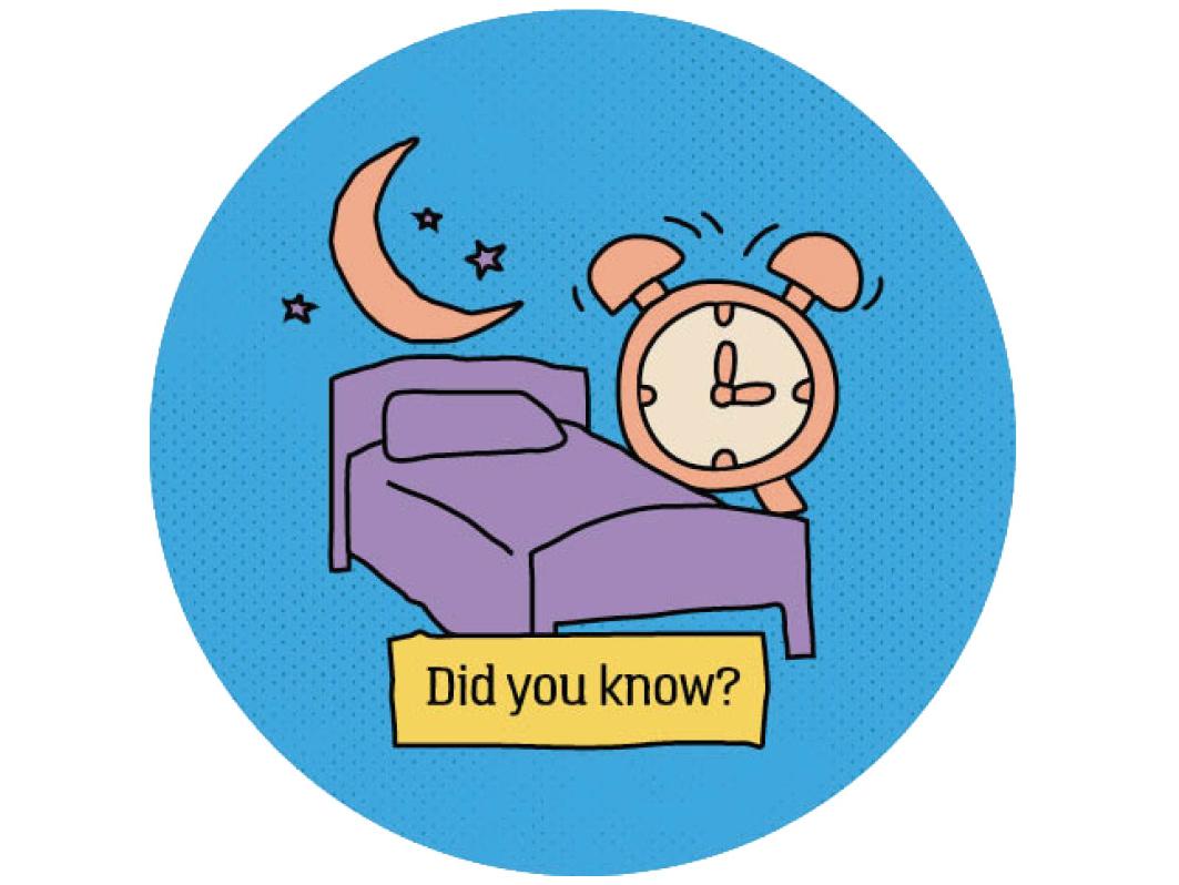 healthy sleep habits icon graphic design icon design illustration design for good