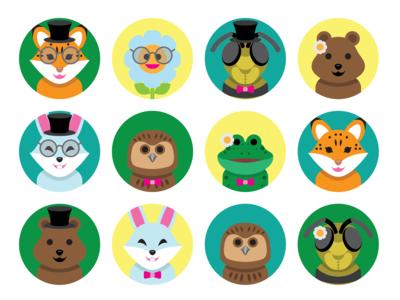 Customizable avatars