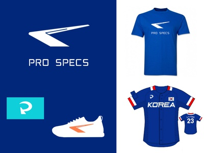 PRO SPECS - New Concept p specs pro sports brand logo