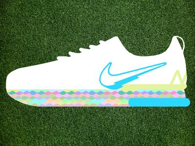 HYPER MAX shoes swoosh nike sports brand logo