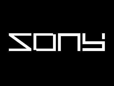 SONY sony brand logo