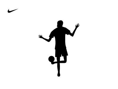 FREE STYLE football soccer nike sports brand logo
