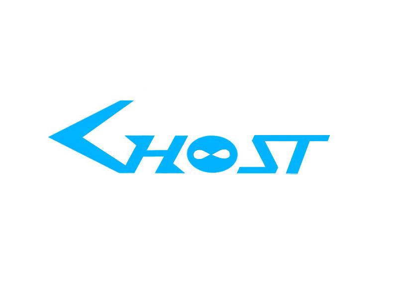 Ghost ninja brand logo ghost g