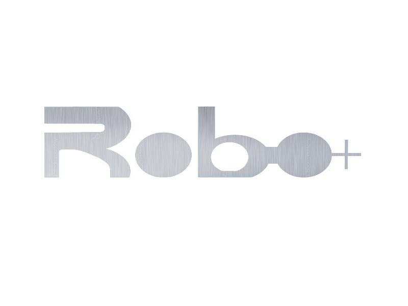 Robo+ robo robot r brand logo
