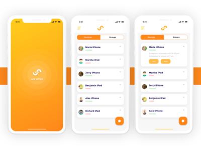 Mobile Device Management system App