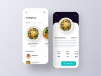 Healthy Food - Delivery App