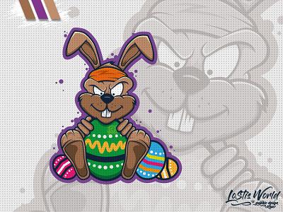 Osterhase eggs eastern rabbit