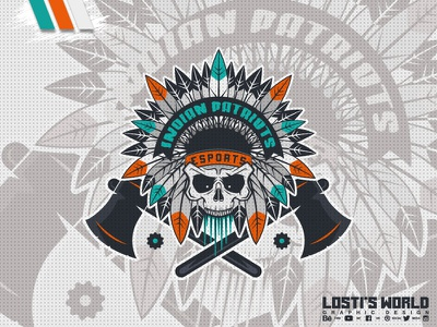 Indian Patriots digital art lostis world mascot artwork art vector branding indian design mascot logo