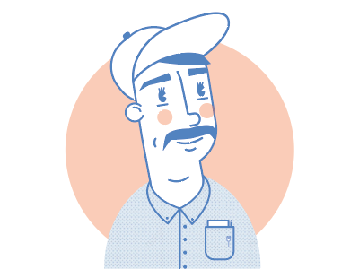 Scotty digital avatar skillshare design illustration