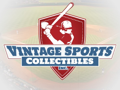 Vintagesportscollectibles baseball logo design kevin hepworth sports vintage collectibles