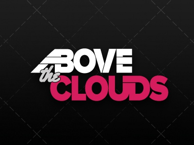 Abovetheclouds Dribbleshot above clouds above the clouds branding logo clothing logo clothing company logo