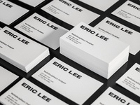 Eric Lee — Personal Business Cards