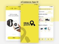 E commerce App UI