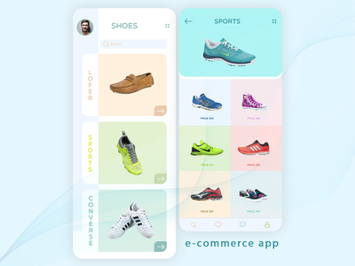 Shoe Store - E-commerce App UI