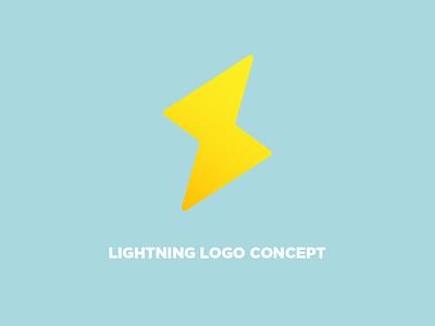 FOR SALE   Lightning Logo concept lightning bolt for sale logo conept lightning typography design vector logo design logo illustrator branding
