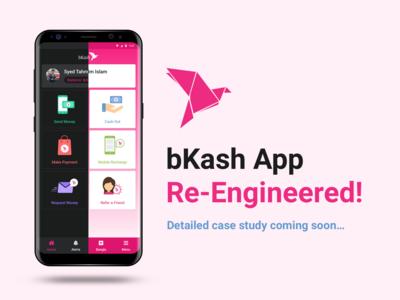 bKash App Re-Engineered mobile app development company mobile app development bkash mobile app experience ux design mobile app design mobile app
