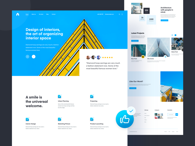 Real Estate Website ux designer uxresearch 2019 user experience user inteface ui trendy property minimal mordern clean housing architechture real state