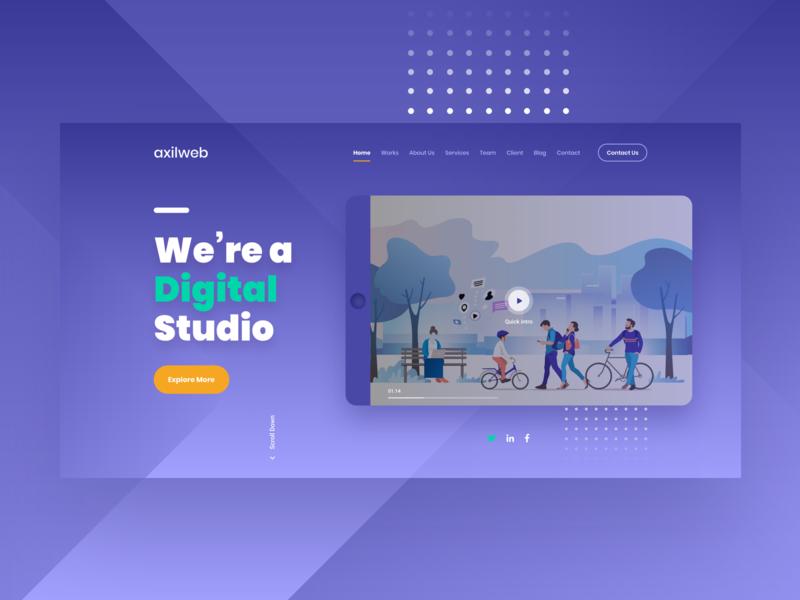 Digital Studio Agency Website Design studio agency digital agency digital studio