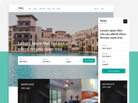 Home - Hotel and Resort Sketch Template