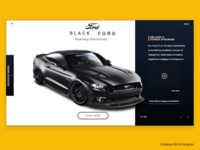 Black Ford Landing Page