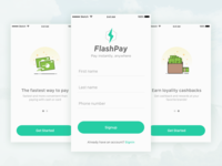 Flash pay onboarding