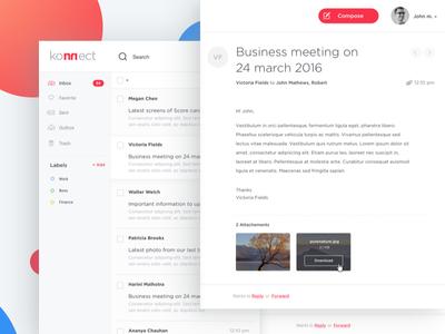Mail Web App